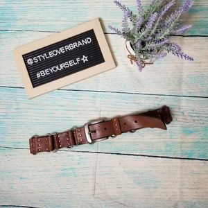 Levi's brown leather belt  size M